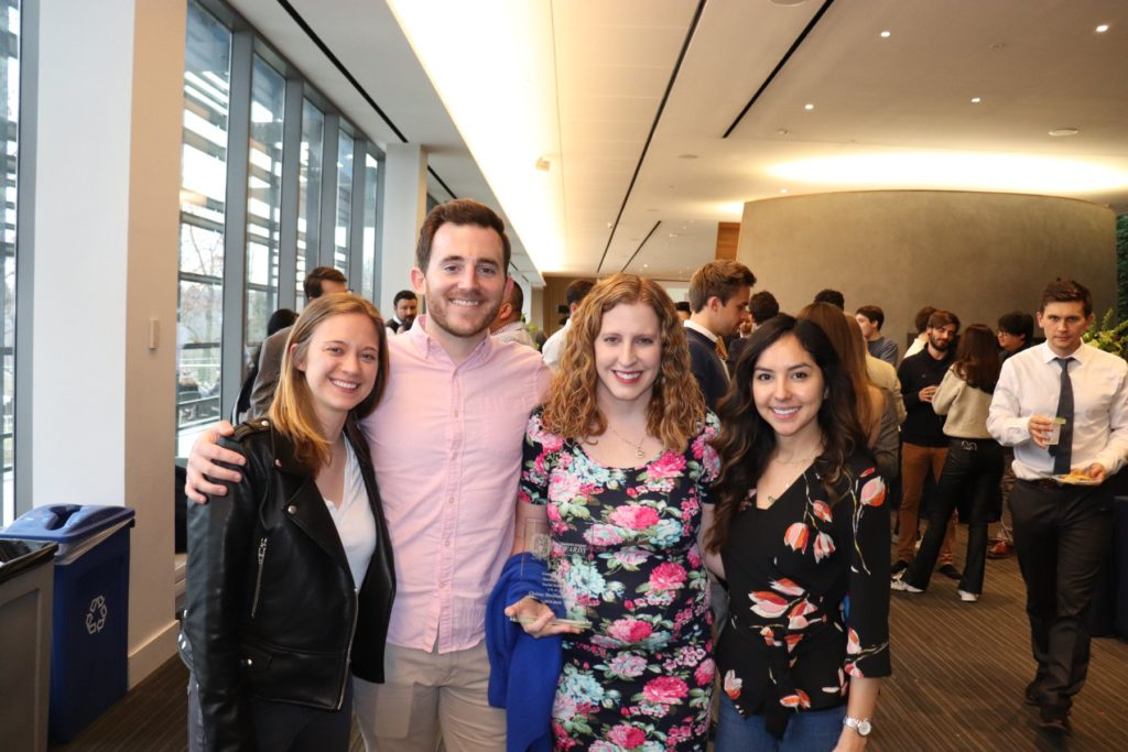 Graduate Students in our Department who were nominated for the Graduate Student Teaching Award: Chrissy Bistline-Bonilla, Leah Adelson, Timothy McCormick, and Sophie Elizabeth Heller!